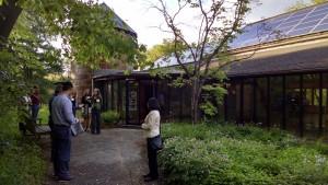 Ashland Nature Center solar panels